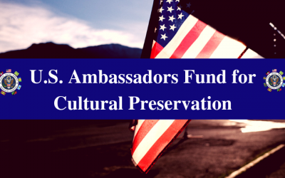 Appel à propositions relatives à la compétition pour le Fonds des Ambassadeurs pour la préservation de la culture