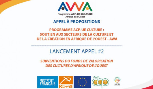 APPEL #2 / SUBVENTIONS DU FONDS DE VALORISATION DES CULTURES D'AFRIQUE DE L'OUEST